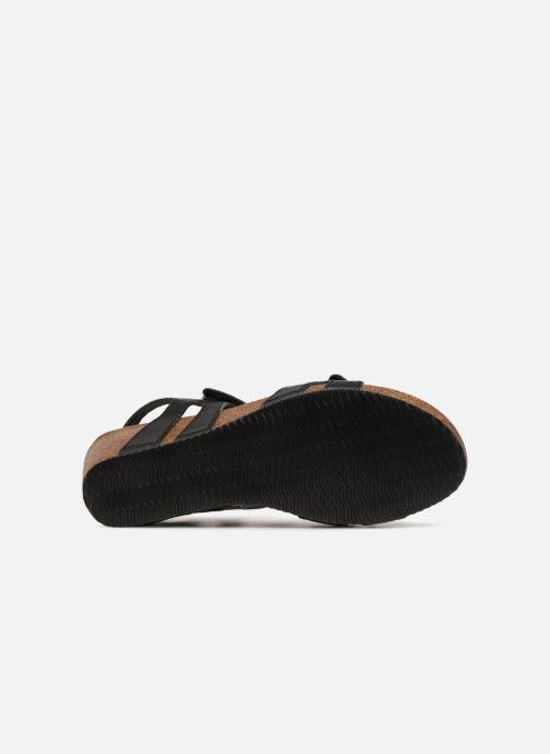 Sandali e scarpe aperte Rondinaud Vero Nero immagine dall'alto