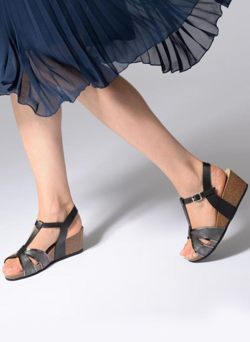 Sandali e scarpe aperte Rondinaud Valira Nero immagine dal basso