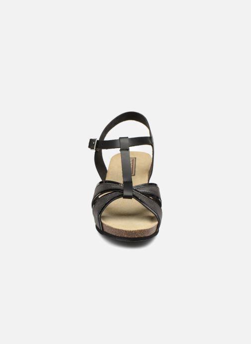 Sandali e scarpe aperte Rondinaud Valira Nero modello indossato