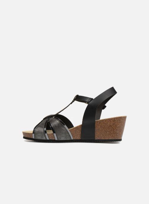 Sandali e scarpe aperte Rondinaud Valira Nero immagine frontale