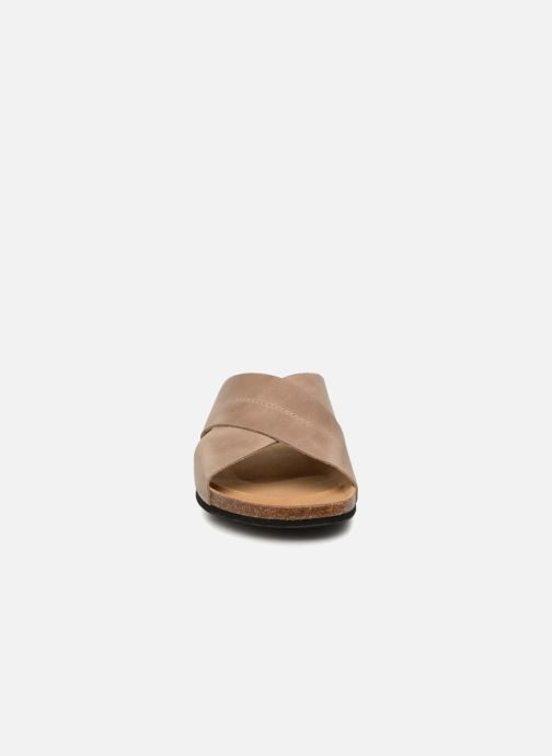 Sandals Rondinaud Gouet Brown model view