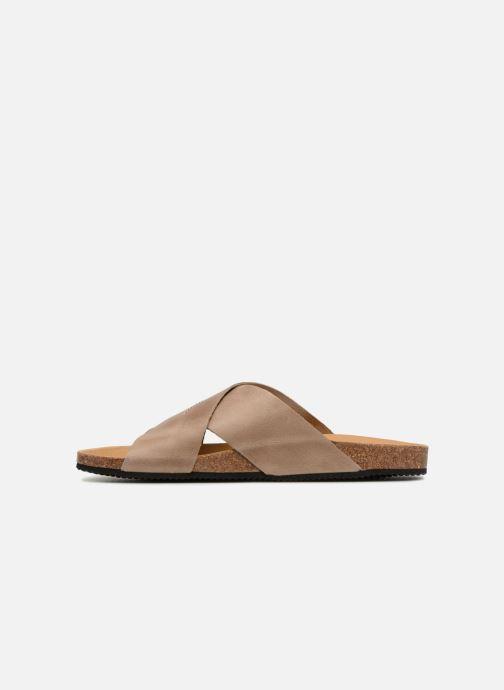 Sandals Rondinaud Gouet Brown front view