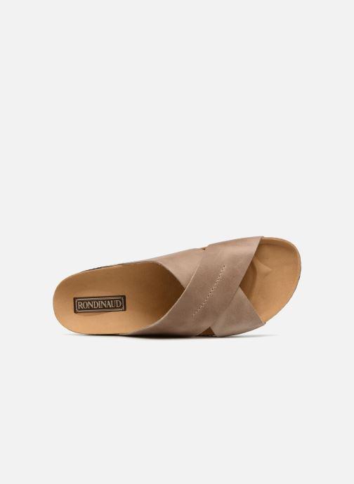 Sandali e scarpe aperte Rondinaud Gouet Marrone immagine sinistra
