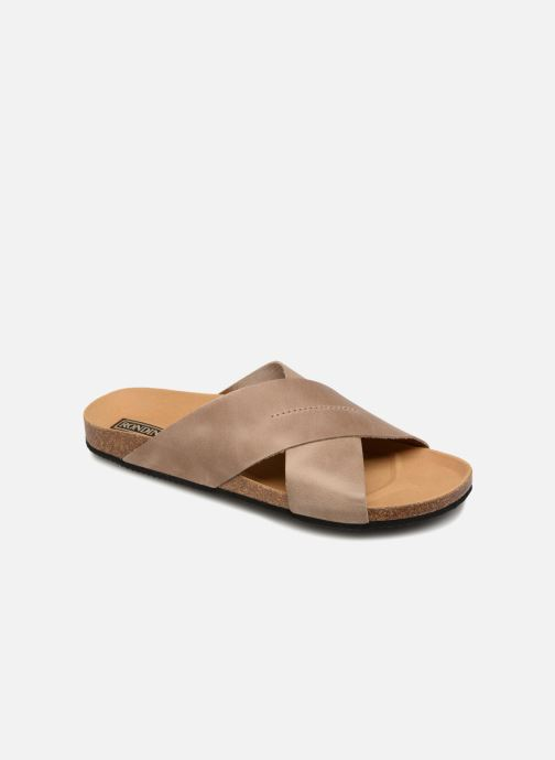 Sandales et nu-pieds Rondinaud Gouet Marron vue détail/paire