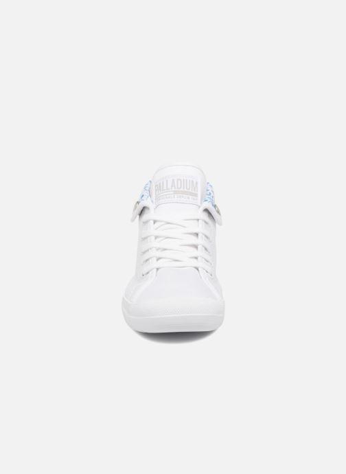 Baskets Palladium Aventure Blanc vue portées chaussures