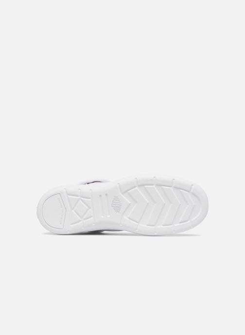 Baskets Palladium Aventure Blanc vue haut