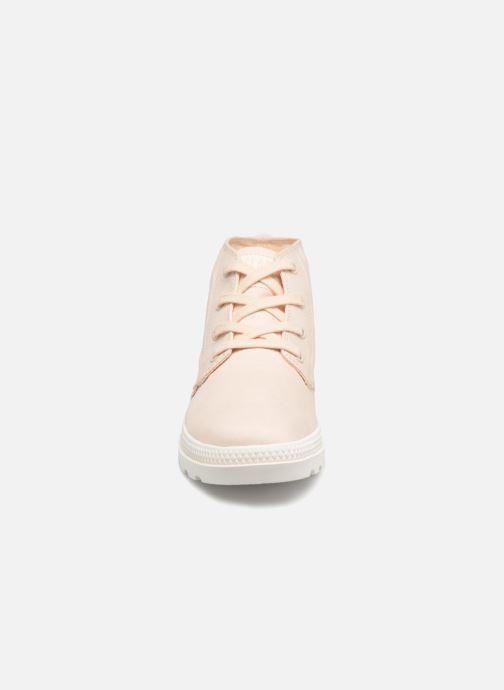 Baskets Palladium Pampa Free Cvsw Rose vue portées chaussures