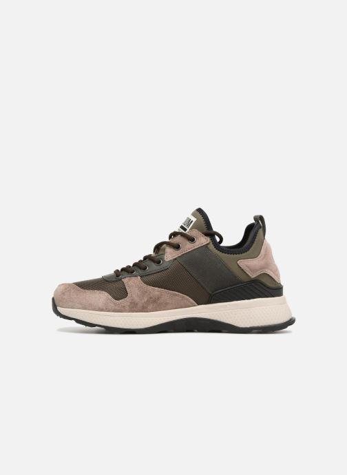 Sneakers Palladium Axeon Army R M Marrone immagine frontale