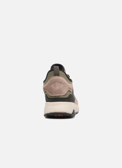 Sneakers Palladium Axeon Army R M Marrone immagine destra