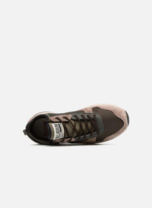 Sneakers Palladium Axeon Army R M Marrone immagine sinistra