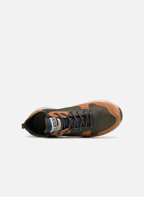 Sneakers Palladium Axeon Army R M Marrone immagine sinistra