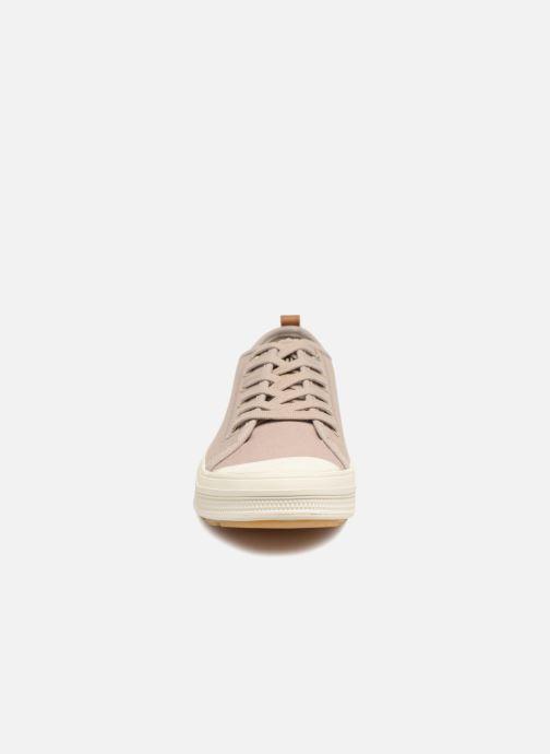 Sneakers Palladium Sub Low Cvs M Beige modello indossato