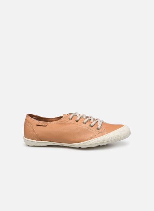 Sneakers P-L-D-M By Palladium Game Vit Beige achterkant