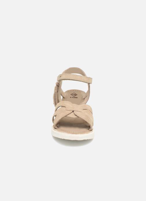 Espadrilles P-L-D-M By Palladium Plumea Sud Beige vue portées chaussures