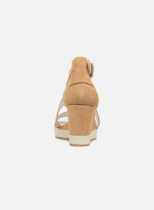 Sandalen P-L-D-M By Palladium Wellton mix braun ansicht von rechts