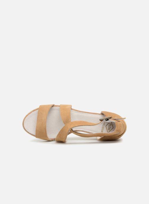 Sandalen P-L-D-M By Palladium Wellton mix braun ansicht von links