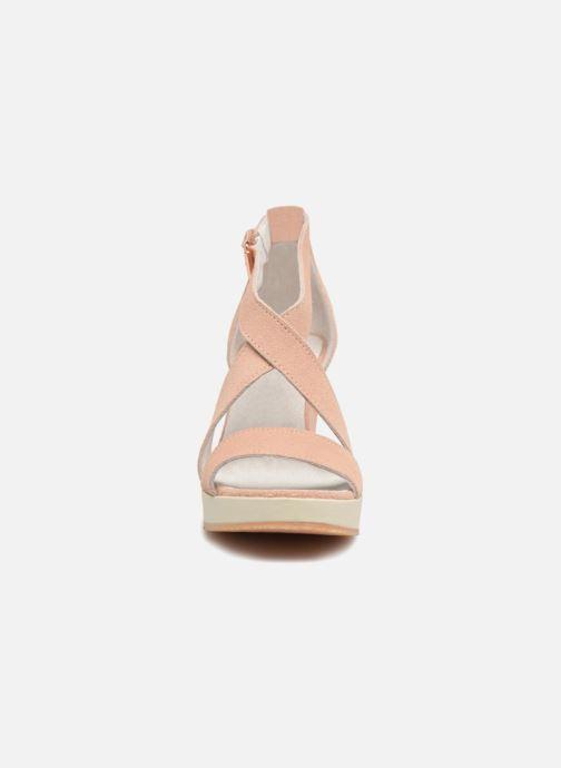 Sandali e scarpe aperte P-L-D-M By Palladium Wellton mix Rosa modello indossato