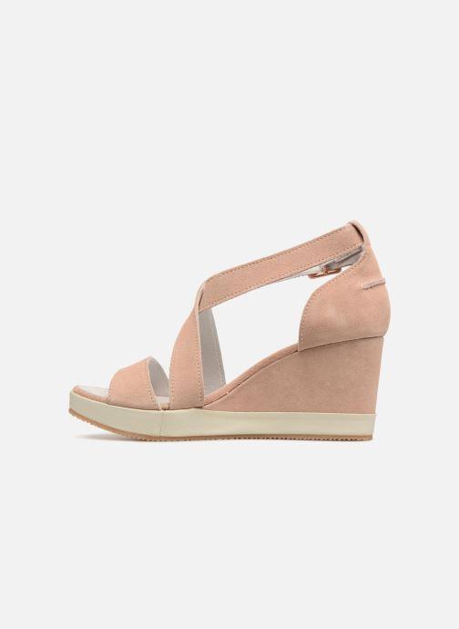 Sandali e scarpe aperte P-L-D-M By Palladium Wellton mix Rosa immagine frontale