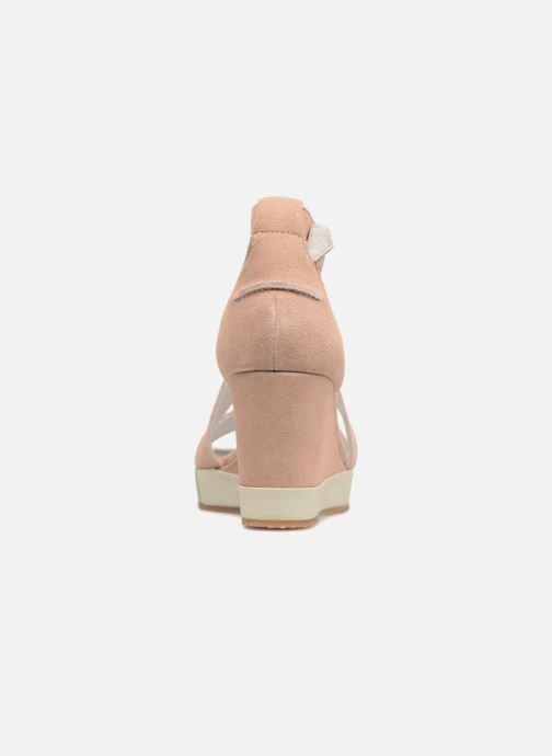 Sandali e scarpe aperte P-L-D-M By Palladium Wellton mix Rosa immagine destra