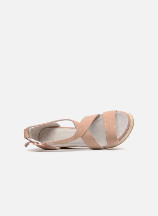 Sandali e scarpe aperte P-L-D-M By Palladium Wellton mix Rosa immagine sinistra