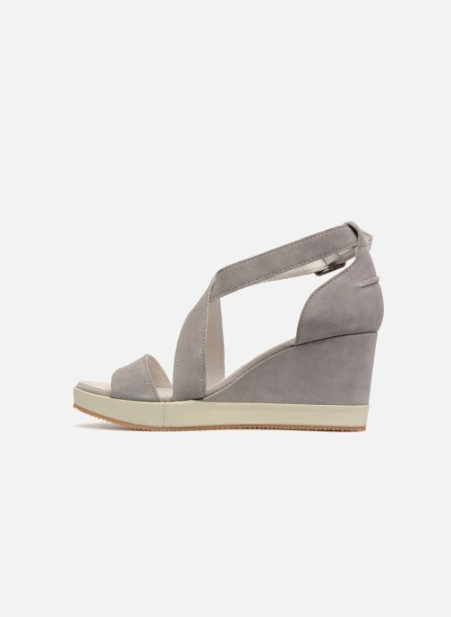Sandalias P-L-D-M By Palladium Wellton mix Gris vista de frente