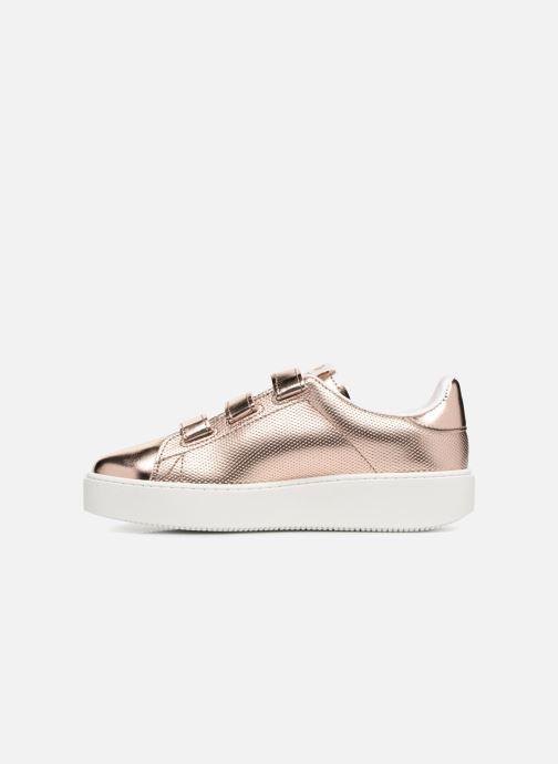 Sneakers Victoria Deportivo Metalico Velcros Roze voorkant