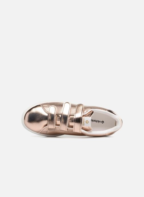 Sneakers Victoria Deportivo Metalico Velcros Roze links