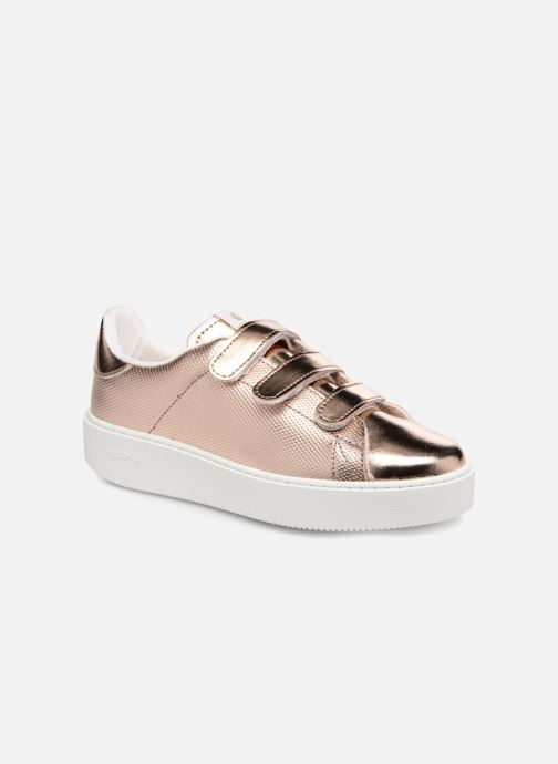 Sneakers Victoria Deportivo Metalico Velcros Roze detail
