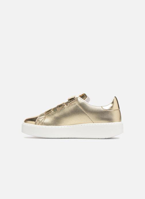 Sneakers Victoria Deportivo Metalico Velcros Goud en brons voorkant