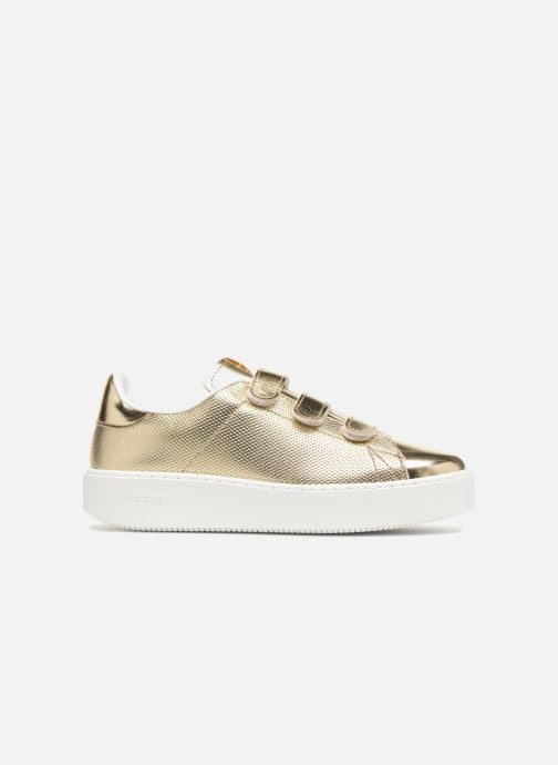 Sneakers Victoria Deportivo Metalico Velcros Goud en brons achterkant