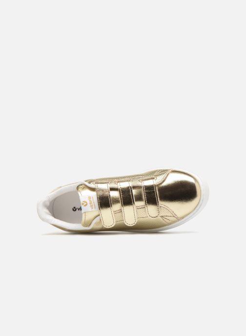 Sneakers Victoria Deportivo Metalico Velcros Goud en brons links