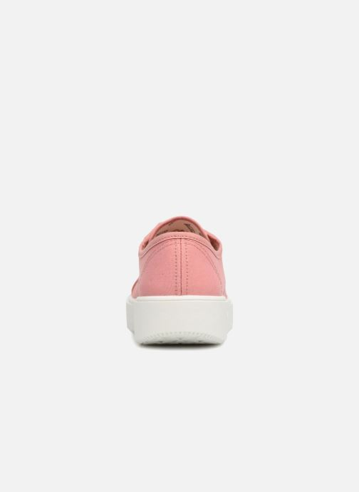 Sneakers Victoria Basket Lona Rosa immagine destra