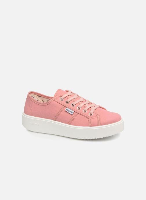 Sneakers Victoria Basket Lona Rosa vedi dettaglio/paio