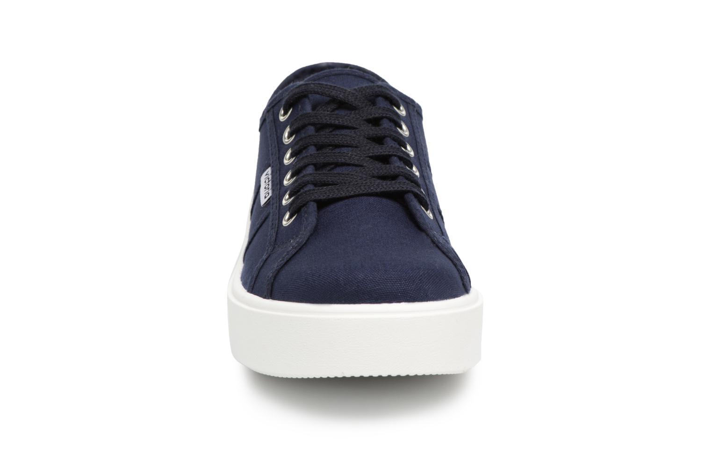 Baskets Victoria Basket Lona Bleu vue portées chaussures