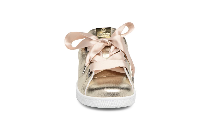 Baskets Victoria Deportivo Metalizado Baner Or et bronze vue portées chaussures