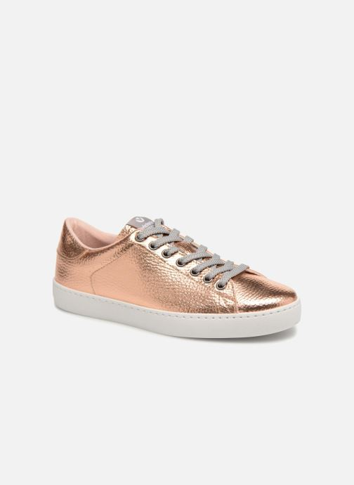 3c2749cc56c65 Trainers Victoria Deportivo Metalizado Bronze and Gold detailed view  Pair  view