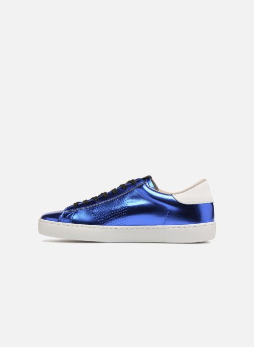 Sneakers Victoria Deportivo Metalizado Blauw voorkant