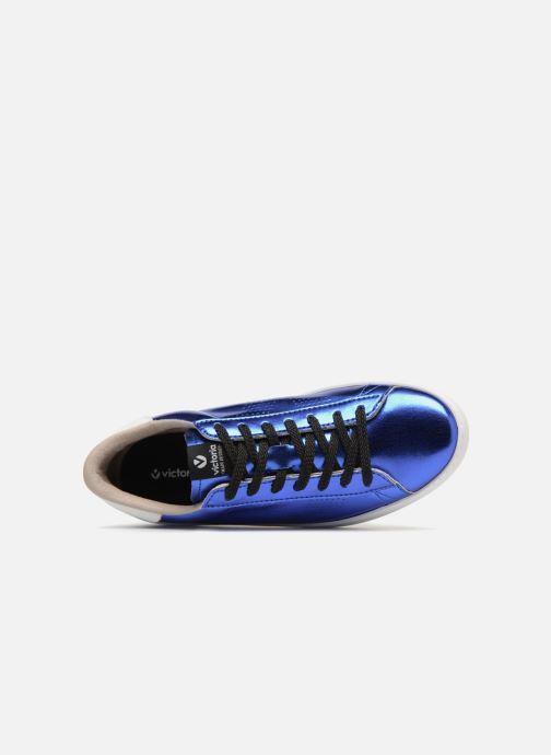 Sneakers Victoria Deportivo Metalizado Blauw links