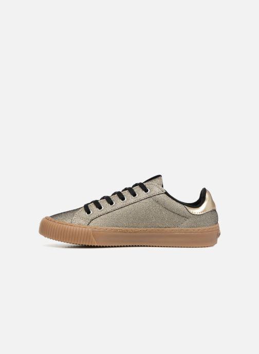 Sneakers Victoria Deportivo Metalizado Oro e bronzo immagine frontale