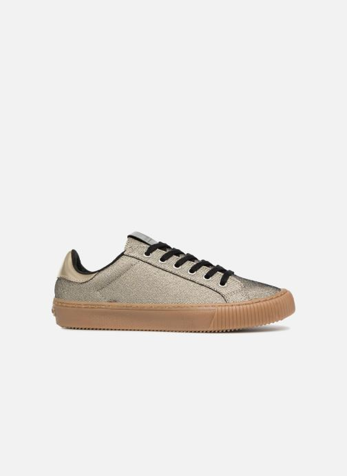 Trainers Victoria Deportivo Metalizado Bronze and Gold back view