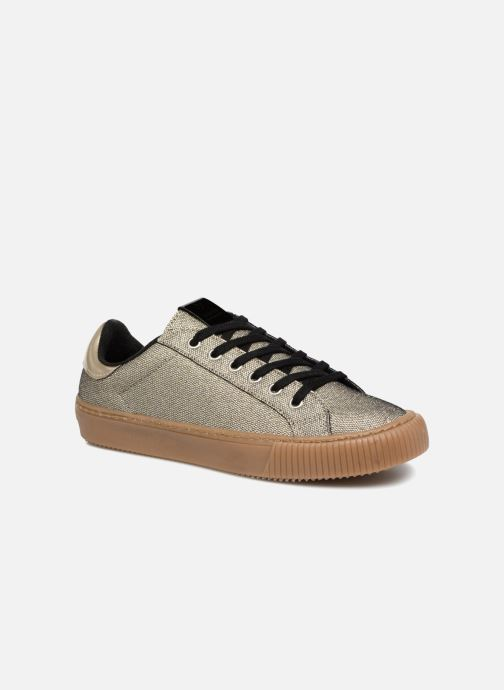 Trainers Victoria Deportivo Metalizado Bronze and Gold detailed view/ Pair view