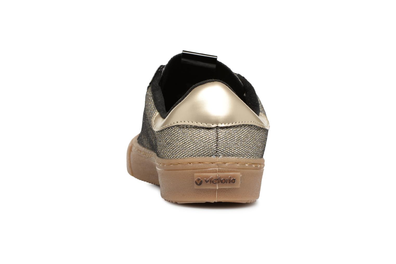 Sneaker Victoria Deportivo Metalizado gold/bronze ansicht von rechts