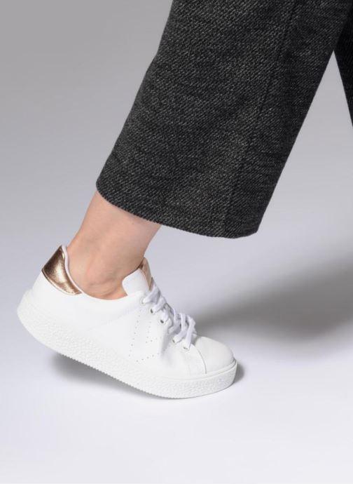 Sneakers Victoria Deportivo Piel 2 Bianco immagine dal basso