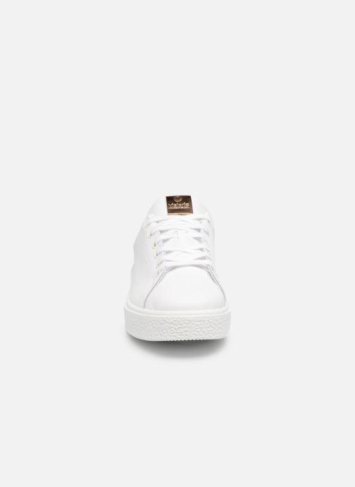 Sneakers Victoria Deportivo Piel 2 Bianco modello indossato