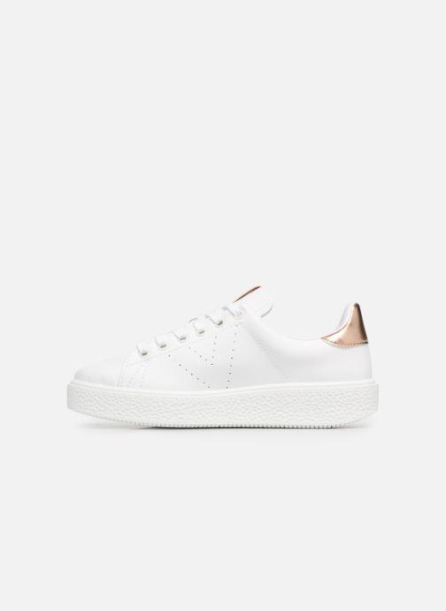 Sneakers Victoria Deportivo Piel 2 Bianco immagine frontale
