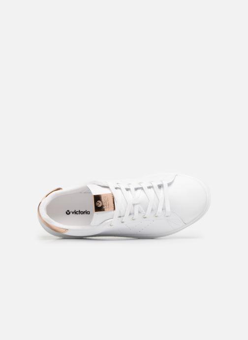 Sneakers Victoria Deportivo Piel 2 Bianco immagine sinistra