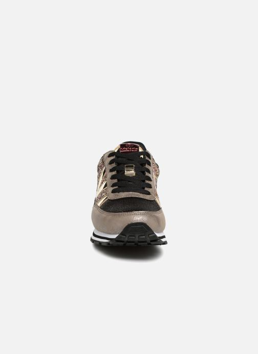 Baskets Victoria Deportivo Ciclista Glitter Or et bronze vue portées chaussures