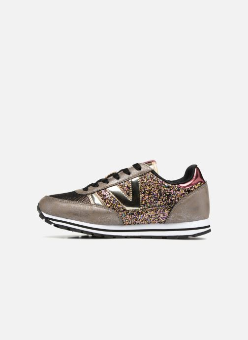 Sneakers Victoria Deportivo Ciclista Glitter Goud en brons voorkant