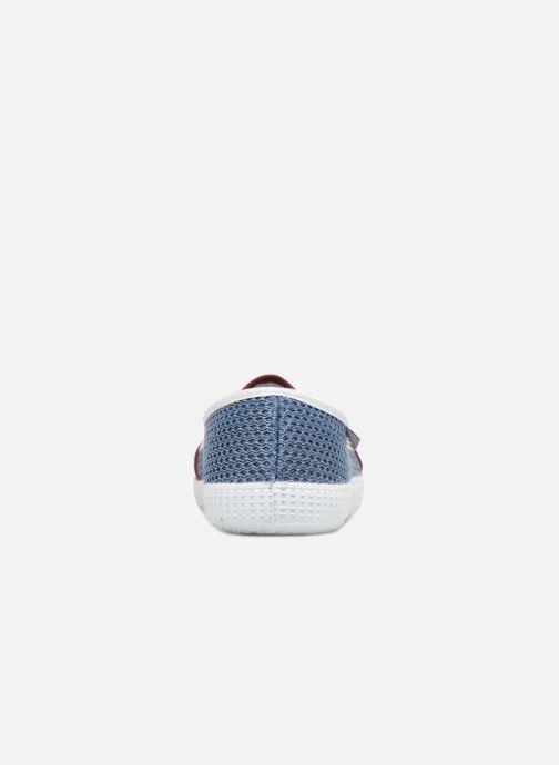 Baskets Victoria Slip On Rejilla/Tricolor Bleu vue droite