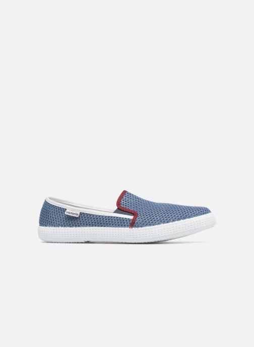 Baskets Victoria Slip On Rejilla/Tricolor Bleu vue derrière